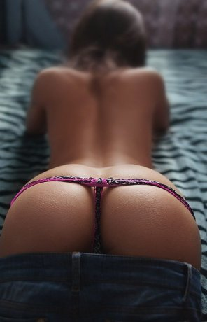 amateur photo Thonged massterpiece