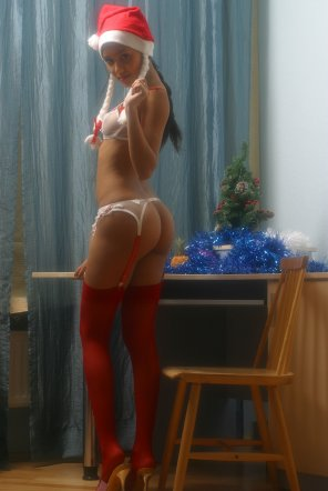 amateur photo Christmas Cutie