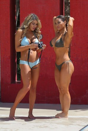 amateur photo Daphne Joy & a Friend.