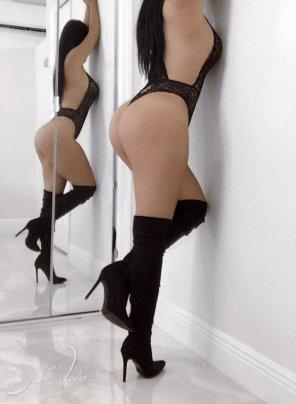 amateur photo [Self] Thigh High Boots