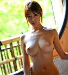 amateur photo Dripping wet Asian titties