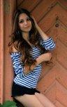 amateur photo In stripes