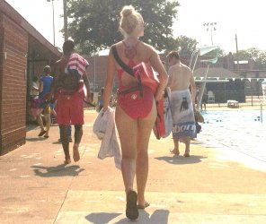 amateur photo hottest lifeguard at my pool