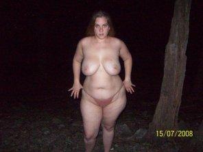 amateur photo Pulling down her panties