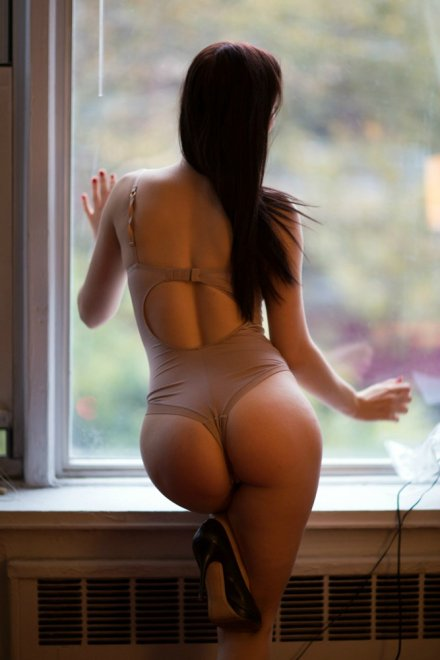 From behind Porn Photo