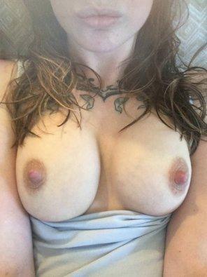 amateur photo cum on my tits