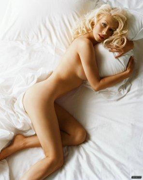 amateur photo Christina Aguilera