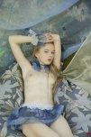 amateur photo Frilly blue