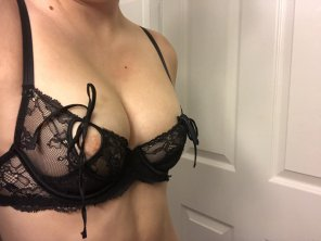 amateur photo New bra