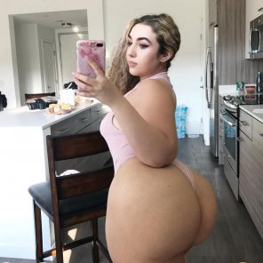 amateur photo Nice big butt