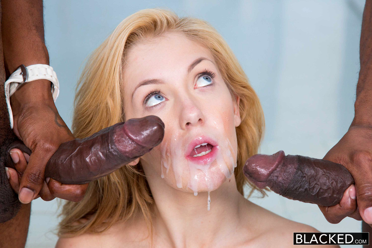 Big Black Cocks On White Girls Compilation