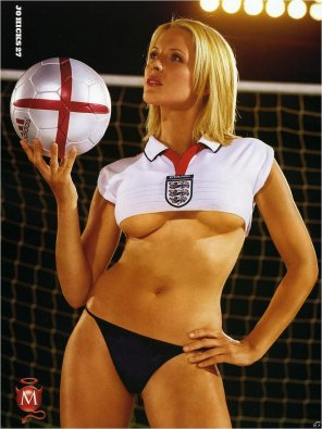amateur photo Jo Hicks for England
