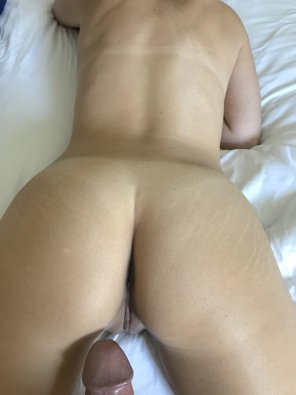 amateur photo Rear pussy ready