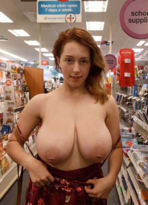 amateur photo Pierced nips...