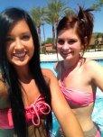 amateur photo Cuties at Pool