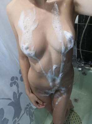 amateur photo To wash off the foam, confirm that you turned 18 :D
