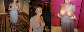 amateur photo smiling big tit milf