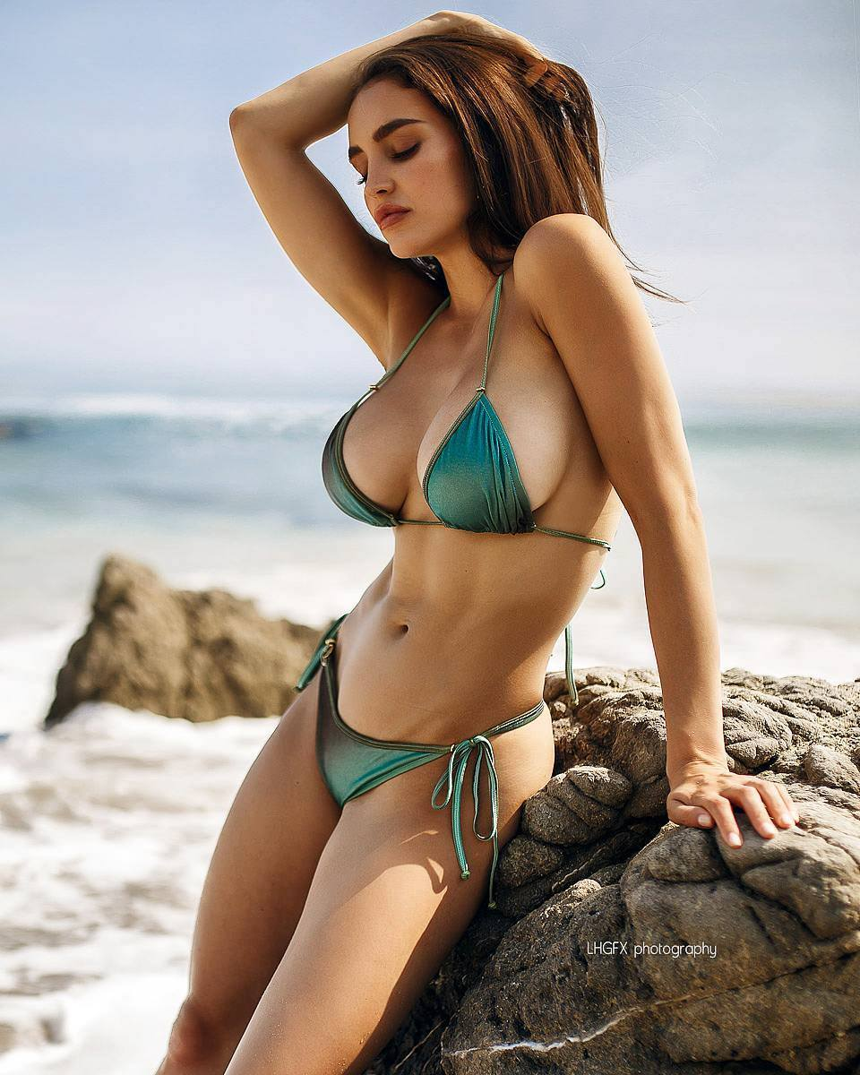 Beach beauty bikini
