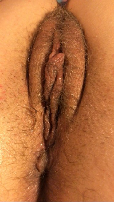 It's not quite as smooth or perfect as other pussies here, but I hope some of you enjoy my MIL{F} pussy. Porn Photo