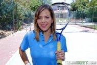 Keisha Grey is ready for tennis