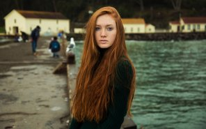 amateur photo Stunning redhead