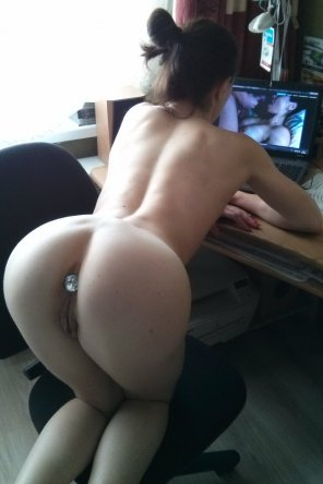 amateur photo Watching Porn