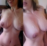 amateur photo Dripping Down Her Tits