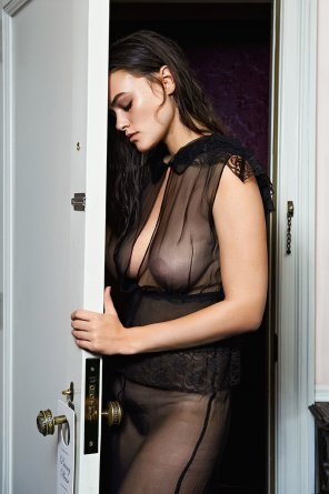 amateur photo Myla Dalbesio, by Pamela Hanson