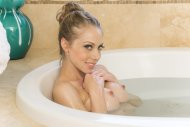Samantha Saint in the Bathtub
