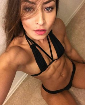 amateur photo Great abs
