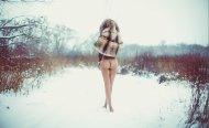 Thru the snow