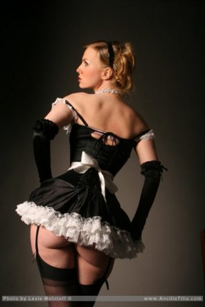 amateur photo Maid to order...