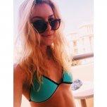amateur photo Blue Bikini