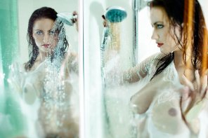 amateur photo Shower reflections by Christophe Vermare