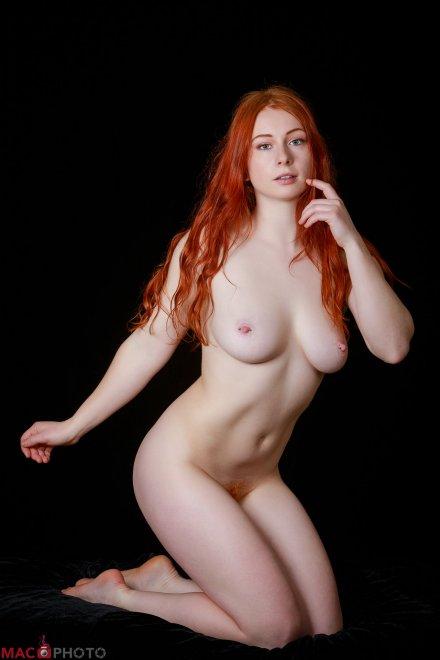 Pale Redhead Porn Photo