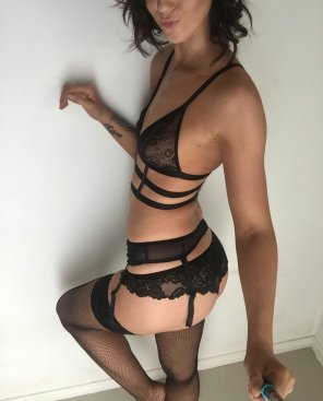 amateur photo Ass in lingerie