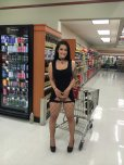 amateur photo In Fishnet Stockings