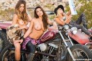 Maggie May, Chelsie Aryn & Dani Mathers
