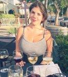 amateur photo Emil Helenbarry enjoying some wine