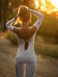 amateur photo When the Sun Shines Through a Dress and Makes it Transparent