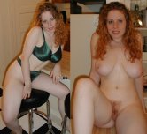 amateur photo A Ginger On/ OFf