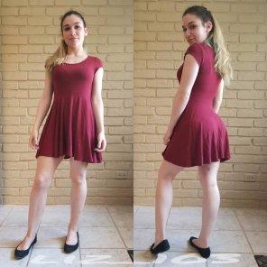 amateur photo I love dresses