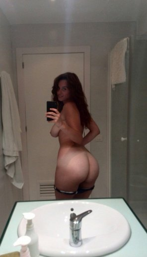 amateur photo Naughty Mirror Selfie