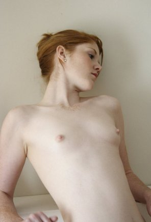 amateur photo Beautiful ginger