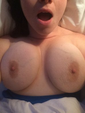 amateur photo Anyone want to play with my big titty ? SC: soadams21