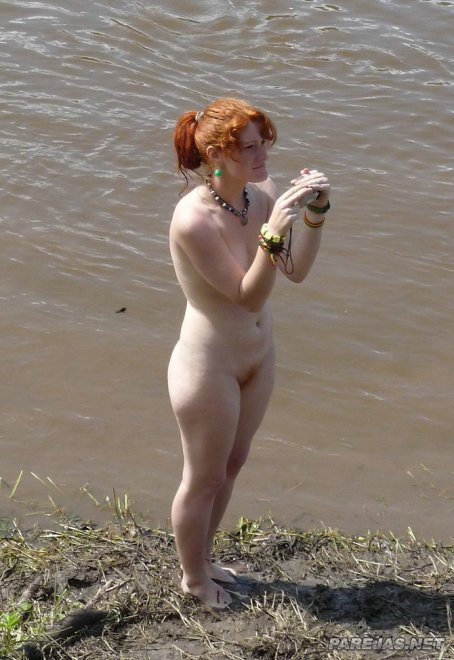 Ginger By The Lake Porn Photo