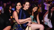 amateur photo Katy Perry, Kristen Stewart and Selena Gomez are looking awkward & happy