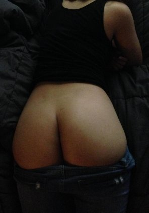 amateur photo Round asian ass