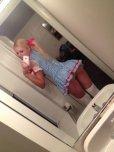 amateur photo Short dress selfie