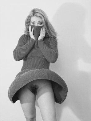 amateur photo No underwear